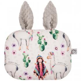 Poduszka Króliczek z uszami Lama