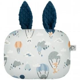 Poduszka Króliczek z uszami Liski