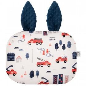 Poduszka Króliczek z uszami Strażak