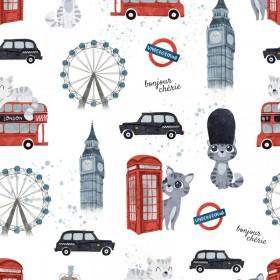 Osłonka na pałąk wózka Londyn